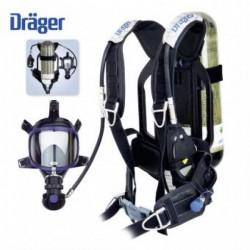 Aparat de respirat autonom pentru interventii include butelie carbon 6.8L Drager