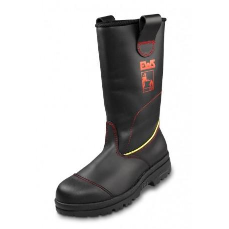 Cizme protectie pompieri cu branturi EWS EN15090 import Germania