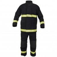 Costum pompieri nomex-kevlar, hidrofobizat, ignifugat, antistatic, ultralight, FAS DELTA III EN469