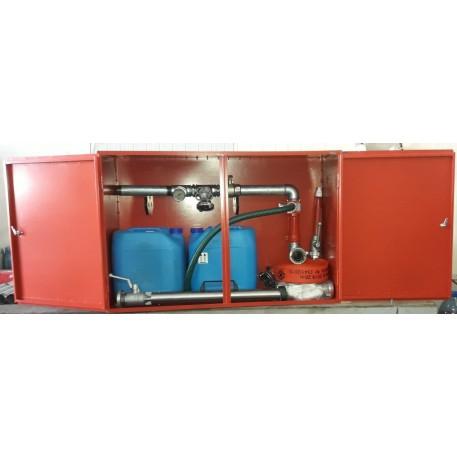 Cutie hidrant interior SH/SW60 de stingere cu spuma aeromecanica conform EN671-2 EN 13565-1 avizat IGSU