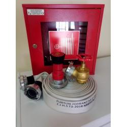 Cutie hidrant interior CH17-GOLD complet echipat conform EN671-2/2012 avizat de IGSU