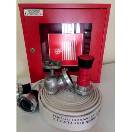 Cutie hidrant interior CH17-AL complet echipat conform EN 671-2/2012 avizat IGSU