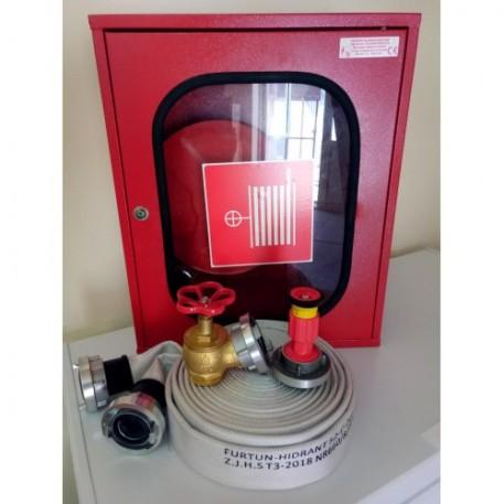 Cutie hidrant interior CH60-GOLD complet echipat conform SR EN 671-2/2012 avizat IGSU
