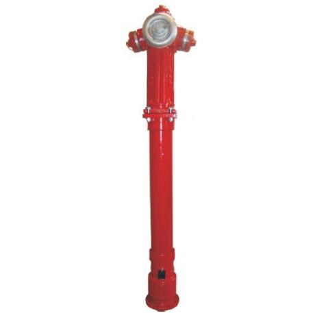 Hidrant suprateran DN100 cu protectie la rupere PN16 tip 1A-2B JAFAR POLONIA omologat IGSU