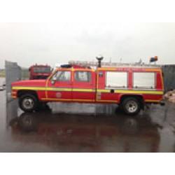 Autospeciala pompieri GMC reconditionata 1500L