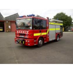 Autospeciala pompieri Dennis reconditionata 4000L
