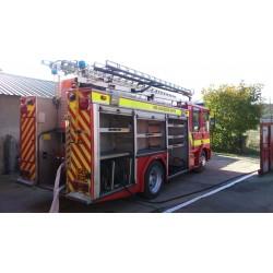 Autospeciala pompieri 4000L cu apa si spuma