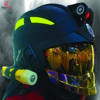 Casca pompieri profesionala EN443 Pacific F15Black cunoscuta ca cea mai sigura din lume acum si in Romania