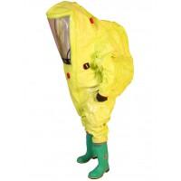 Costum protectie CBRN tip combinezon Respirex TYCHEM TK DuPont tip 1A pentru zone cu risc biologic crescut