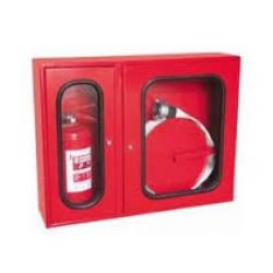 Cutie hidrant interior complet echipat cu locas pentru stingator conform SR EN 671-2/2012 avizat IGSU