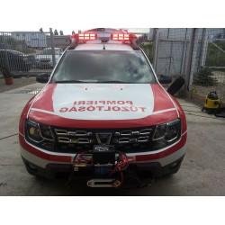 Autospeciala Duster de interventie rapida in caz de incendiu Rosting300