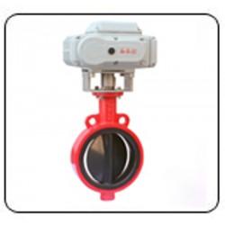 Electrovane cu servomotor DN100 PN10/16