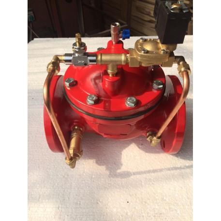 Electrovana solenoid drencere tip DN80 PN10/16