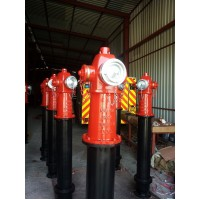 Hidranti supraterani DN150 PN16 agrementati FM, UL, VDS, LPCB