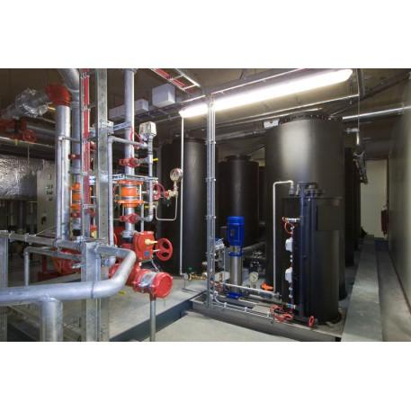 Instalatie de preparare, stocare si dozare spuma aeromecanica AFFF pentru instalatiile de incendiu