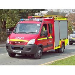 Autospeciala pompieri noua cu apa si spuma Rosting2000 Daily