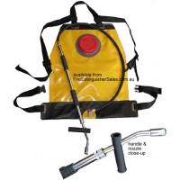Sac portabil cu apa pentru pompieri